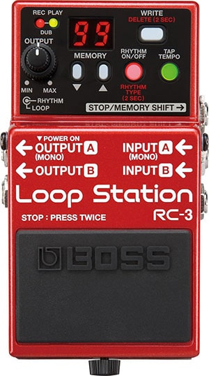 best looper pedal for bass rc-3