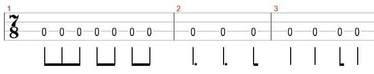 bass time signature example